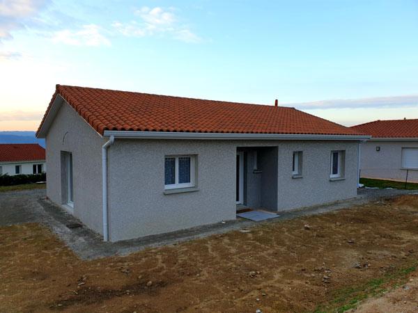 Construction d'une maison individuelle à Monistrol sur Loire