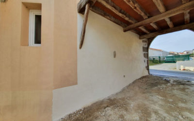 Réfection murs de clôtures et façade en pierre