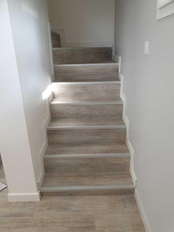 Fin de rénovation de l'escalier